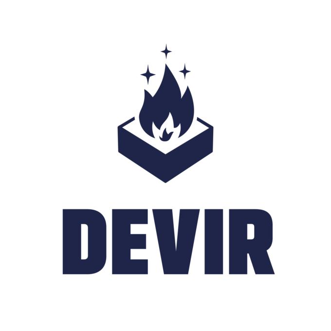 Logo de DEVIR