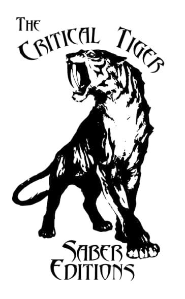 Logo de the Critical Tiger Sabercat editions